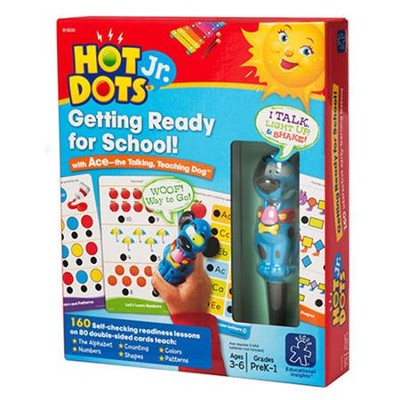 Hot Dots Getting Ready For School   -