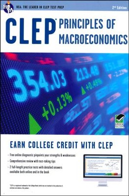 CLEP Principles of Macroeconomics with Online Practice Exams  -     By: Richard Sattora