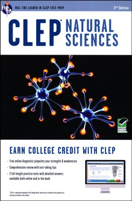 CLEP Natural Sciences W/ Online Practice Exams  -     By: Laurie Ann Callihan & David Callihan