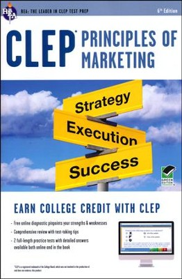 CLEP Principles of Marketing with Access Code (Green)  -     By: Anindya Chatterjee