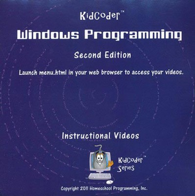 KidCoder Windows Programming Course Instructional DVD   -