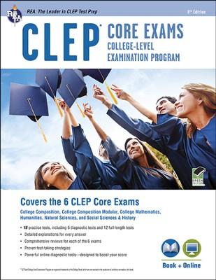 CLEP Core Exams w/ Online Practice Tests, 8th Ed.  -     By: Dominic Marullo, Rachelle Smith