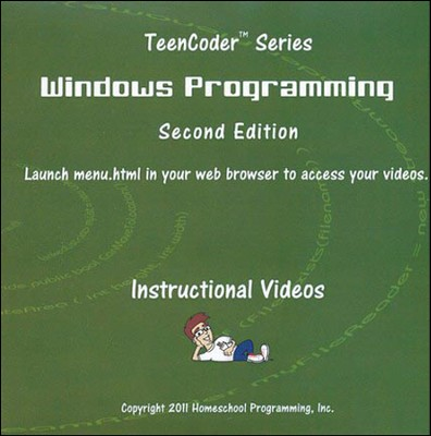 TeenCoder Windows Programming Course Instructional DVD   -