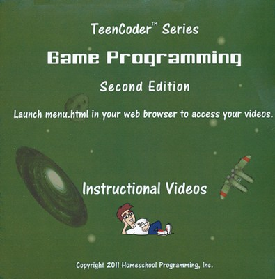 TeenCoder: Game Programming Course Instructional DVD   -