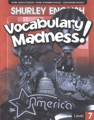 Shurley English Vocabulary Madness! Level 7   -