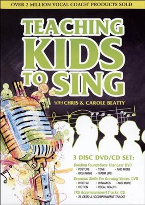 Teaching Kids to Sing, Volumes 1 & 2--DVDs and CD   -     By: Chris Beatty, Carole Beatty