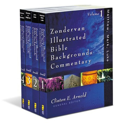 Zondervan Illustrated Bible Backgrounds NT Commentary,  4 Volumes  -     Edited By: Clinton E. Arnold     By: Edited by Clinton E. Arnold