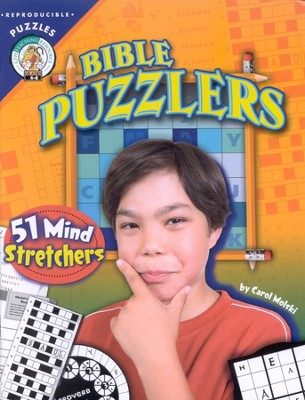 Bible Puzzlers: 51 Mind Stretchers  -     By: Carol Molski