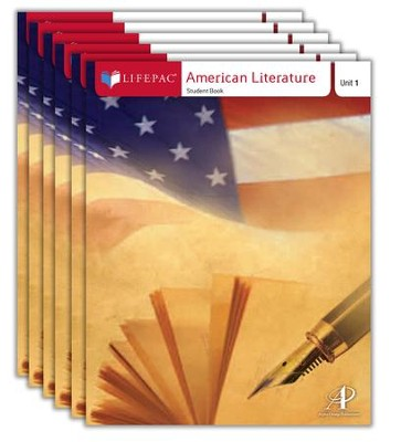 Lifepac Electives: American Literature Complete Set  -