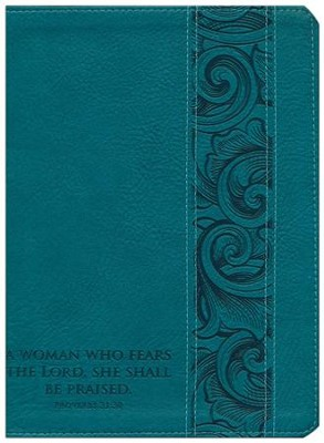 NKJV Holman Study Bible Mother's Edition, Turquoise LeatherTouch   -