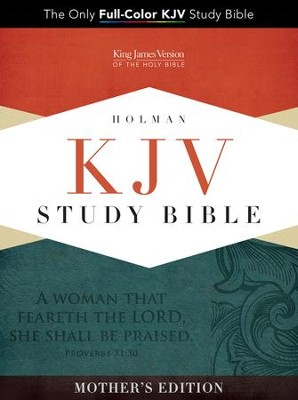 KJV Study Bible, Mother's Edition, Turquoise LeatherTouch  -
