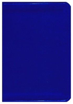 HCSB Large Print Compact ColorMax Bible, Electric Blue LeatherTouch  -