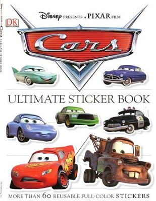 Ultimate Sticker Book: Cars  -