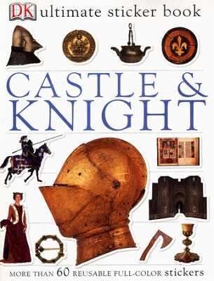 Ultimate Sticker Book: Castle & Knight  -