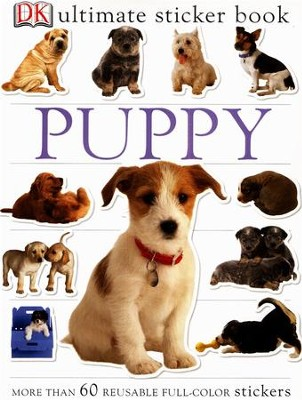 Ultimate Sticker Book: Puppy  -
