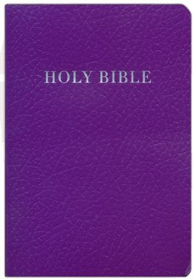 KJV Gift & Award Bible, Purple Imitation Leather  -