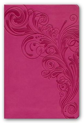 KJV Compact Ultrathin Bible, Pink Leathertouch  -