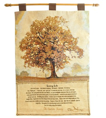 Personalized, Living Life Wallhanging   -