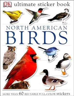 Ultimate Sticker Book: North American Birds  -