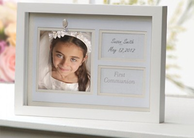 First Communion Shadowbox  -