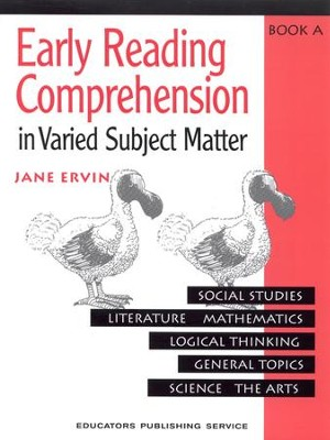 Early Reading Comprehension, Book A   -     By: Jane Ervin