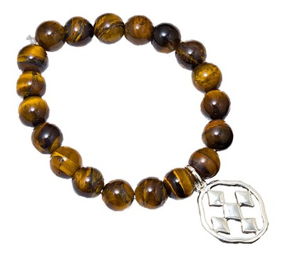 Shield of Faith Bracelet, Tigerstone  -