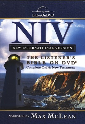 The NIV Listener's Bible on DVD    -     Narrated By: Max McLean     By: Narrated by Max McLean