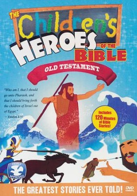 Children's Heroes of the Bible: Old Testament, DVD   -