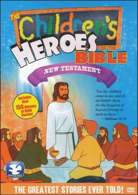 Children's Heroes of the Bible-New Testament, DVD   -