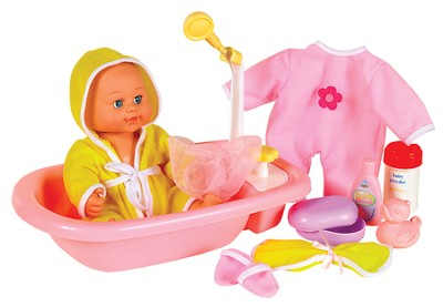 Baby's Bathtime, Brittany  -