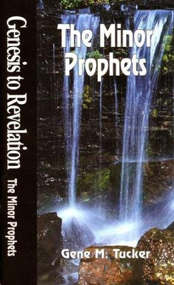 The Minor Prophets, Genesis to Revelation: NIV Bible Study  -     By: Gene Tucker