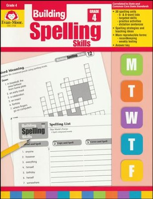 Building Spelling Skills, Grade 4   -     By: Homeschool