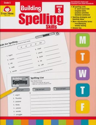 Building Spelling Skills, Grade 5   -     By: Homeschool