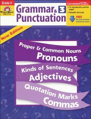 Grammar & Punctuation Grade 3  -     By: Homeschool