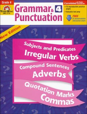 Grammar & Punctuation Grade 4  -     By: Homeschool