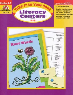 Take It To Your Seat Literacy Centers, Grades 4-6   -     By: Homeschool