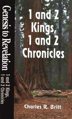 1 & 2 Kings, 1 & 2 Chronicles, Genesis to Revelation: NIV Bible Study  -     By: Charles Britt