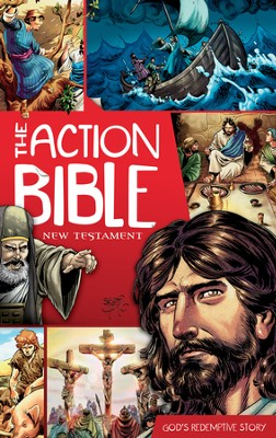The Action Bible New Testament: God's Redemptive Story - eBook  -