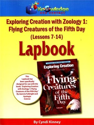 Exploring Creation with Zoology 1: Flying Creatures of  the 5th Day Lessons 7-14 Lapbook  -