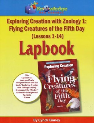 Exploring Creation with Zoology 1: Flying Creatures of the 5th Day Lapbook Package (Lessons 1-14)  -