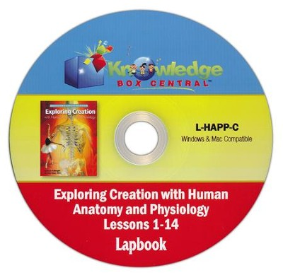 Exploring Creation w/Human Anatomy & Physiology Lapbook Package Lessons 1-14 CD  -     By: Cindy Kinney