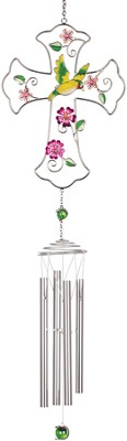 Hummingbird Cross Chimes  -