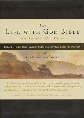 The Life With God Bible, New Revised Standard Version with Deuterocanonical Books, Imitation leather  -