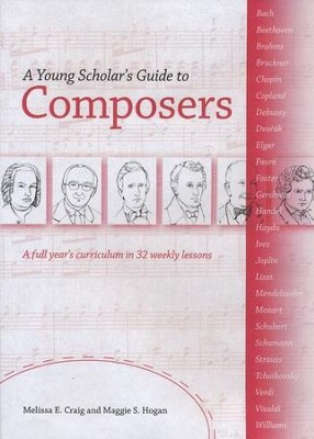 A Young Scholar's Guide to Composers CD-Rom Book   -     By: Melissa E. Craig, Maggie S. Hogan