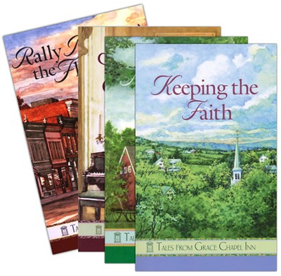 New Tales from Grace Chapel Inn, 4 Volumes  -