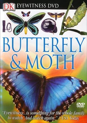 Eyewitness: Butterfly & Moth DVD  -