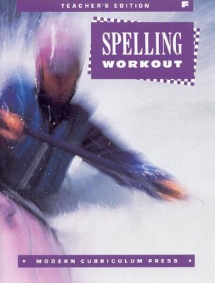 MCP Spelling Workout Level F (Gr. 6) Teacher's Edition  - Slightly Imperfect  -