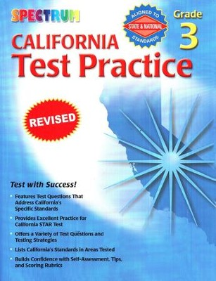 Spectrum California Test Practice, Grade 3   -