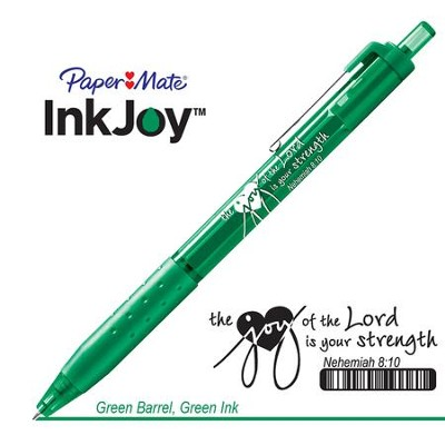 Behold the Joy of His Way Pen, Green  -