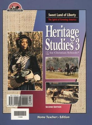 BJU Heritage Studies Grade 3, Home Teacher's Edition    -